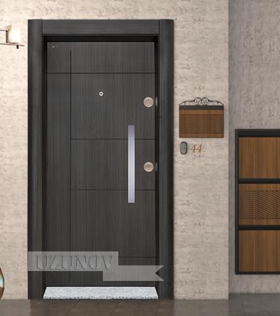 Блиндирана Врата Старлайф SL 203 Черна перла
