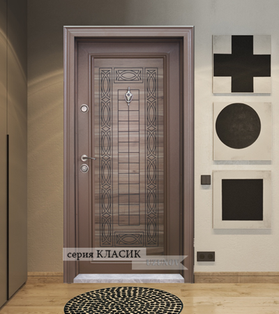 Блиндирана врата Т-684