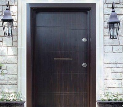 Блиндирана врата Т586 Абанос