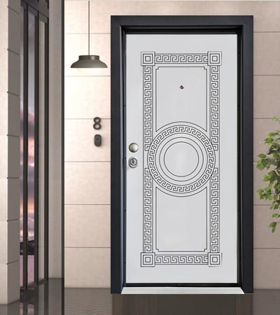 Врата Дога СЛ 100 Бяла перла