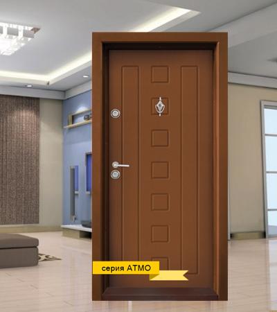 Входна Блиндирана врата T712 Златен дъб