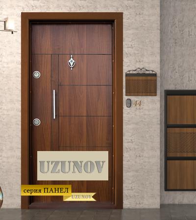 Входна блиндиран врата Т 587 Златен дъб