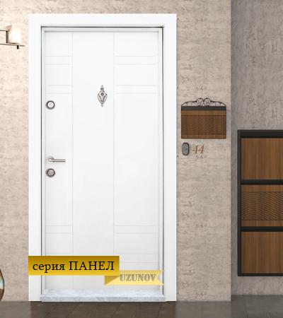 Входна блиндиран врата Т-598 Бяла