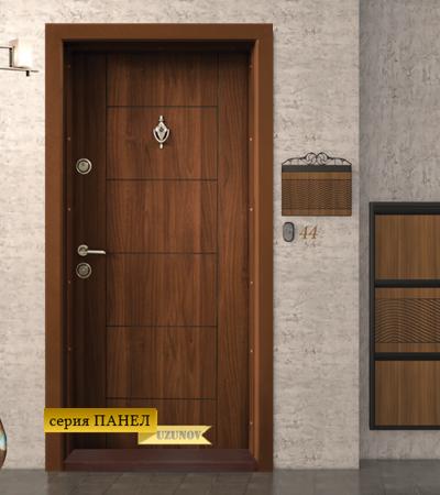 Входна блиндиран врата Т102 Златен дъб