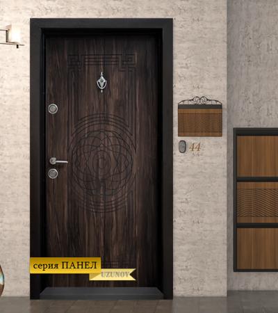 Входна блиндиран врата Т110 Африка