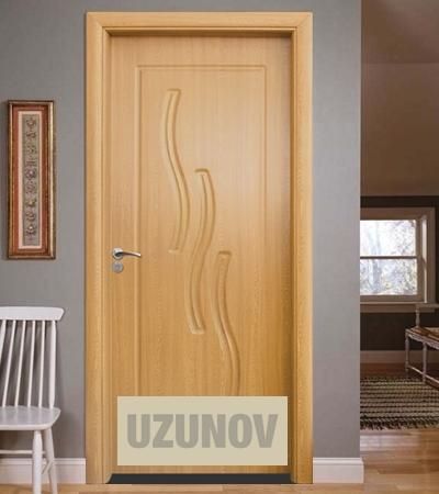 Интериорна врата HDF 014 P Светъл дъб