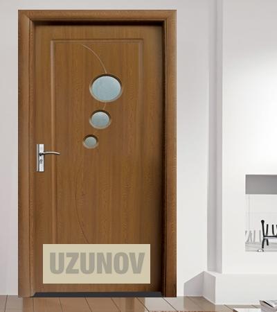 Интериорна врата HDF 017 Златен дъб