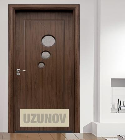 Интериорна врата HDF 017 Орех