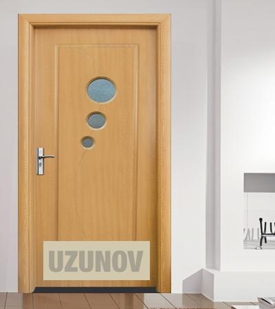 Интериорна врата HDF 017 Светъл дъб