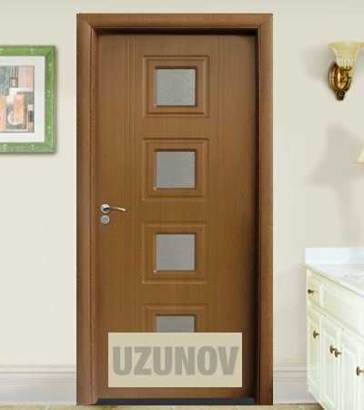 Интериорна врата HDF 021 Златен дъб