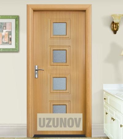 Интериорна врата HDF 021 Светъл дъб