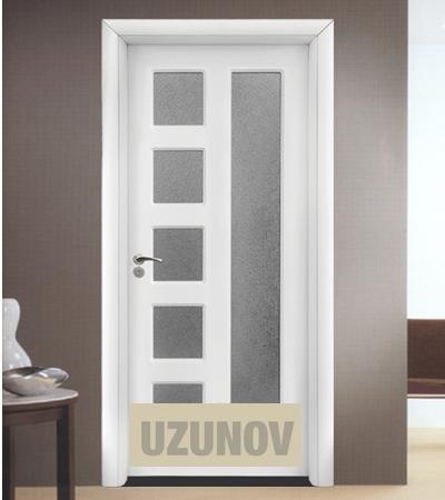 Интериорна врата HDF 048 Бял