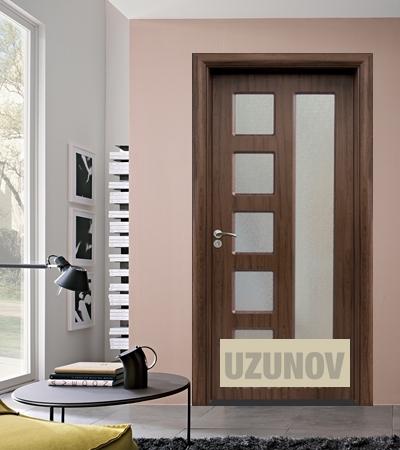 Интериорна врата HDF 048 Орех