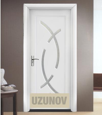 Интериорна врата HDF 056 Бял