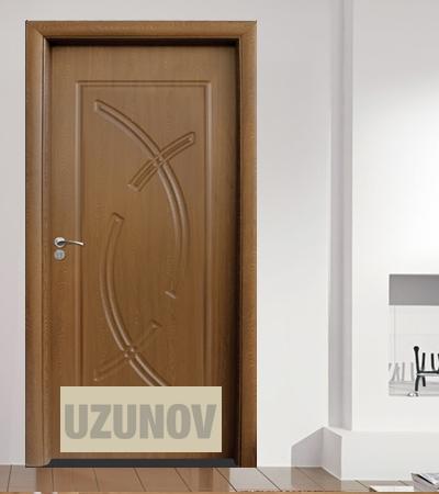 Интериорна врата HDF 056 P Златен дъб