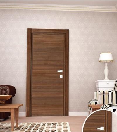 Изберете правилно красиви и функционални врати за дома. На снимката: Интериорна врата VARIODOR VDM Орех