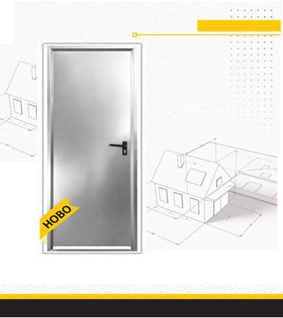Поцинкована метална врата Еко1