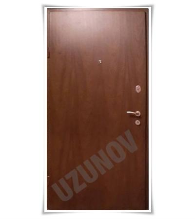 Метална врата с 2 брави модел1