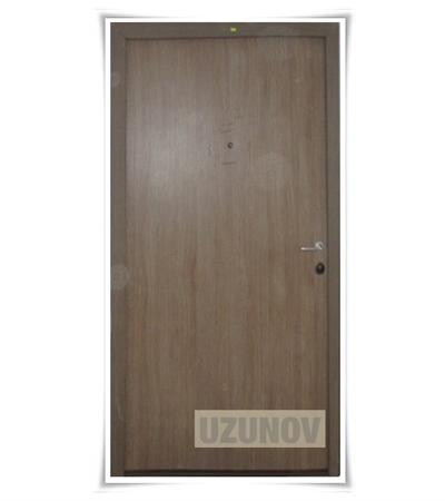 Метални врати с една брава модел 2
