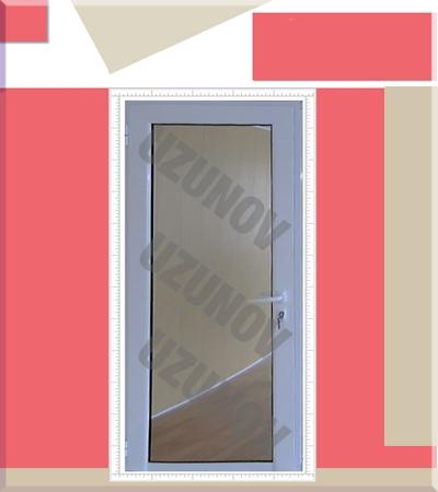 Алуминиева врата с огледало за баня