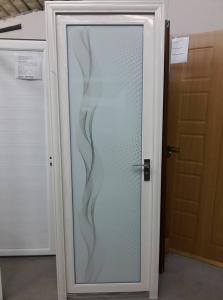 Алуминиева врата с орнаменти