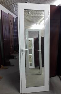 алуминиева врата с огледало
