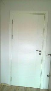 бяла интериорна врата Milano