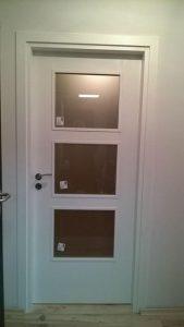остъклена ламинирана МДФ врата 2