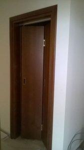 плъзгаща МДФ врата
