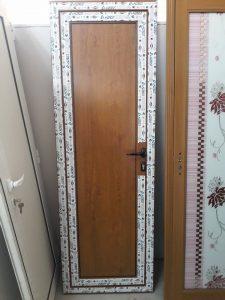 плътна алуминиева врата