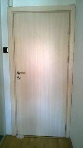 плътна ламинат МДФ врата