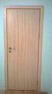 плътна ламинат МДФ интериорна врата 2