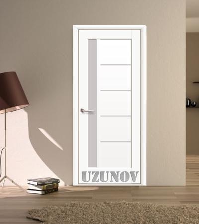 Украинска интериорна врата ГРЕТА Бял Мат