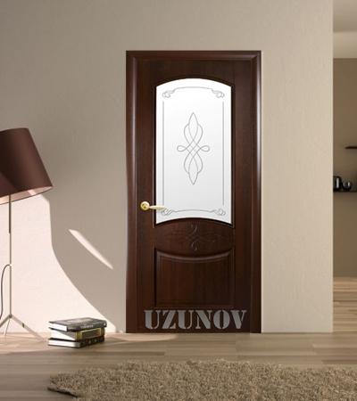 Украинска интериорна врата ДОНА B Кестен