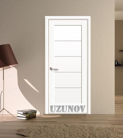 Украинска интериорна врата МИРА Бял Мат